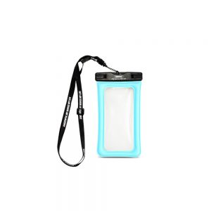Vandtæt pose, Vandtæt cover, iPhone, samsung, huawei, vandbeskyttelse, blå