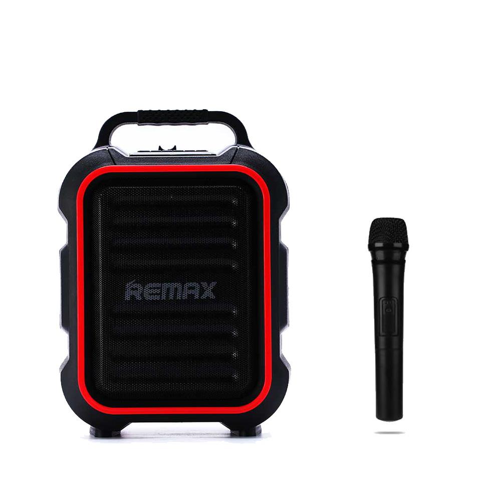 351872_Remax_X3_Bluetooth_Speaker_Kareoke_Microfon_Guitar_Forstaerker_Sort_Lys_Traadloes_OneRepair_00001