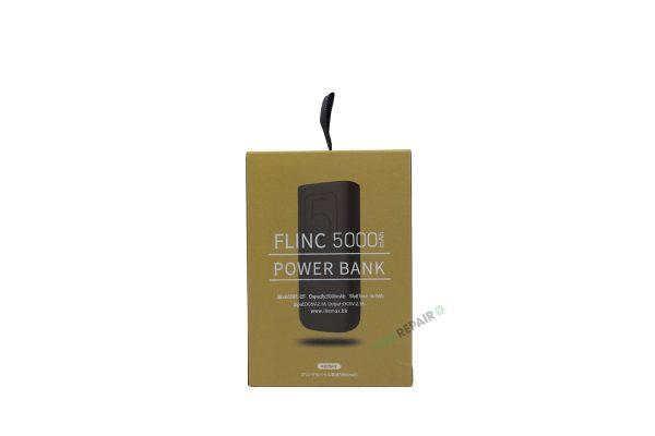 lille Powerbank 5000mAh sort