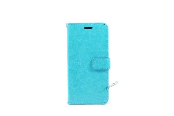 Huawei P20 Pro, Flipcover, cover, Plads til kort, Turkis, Blå