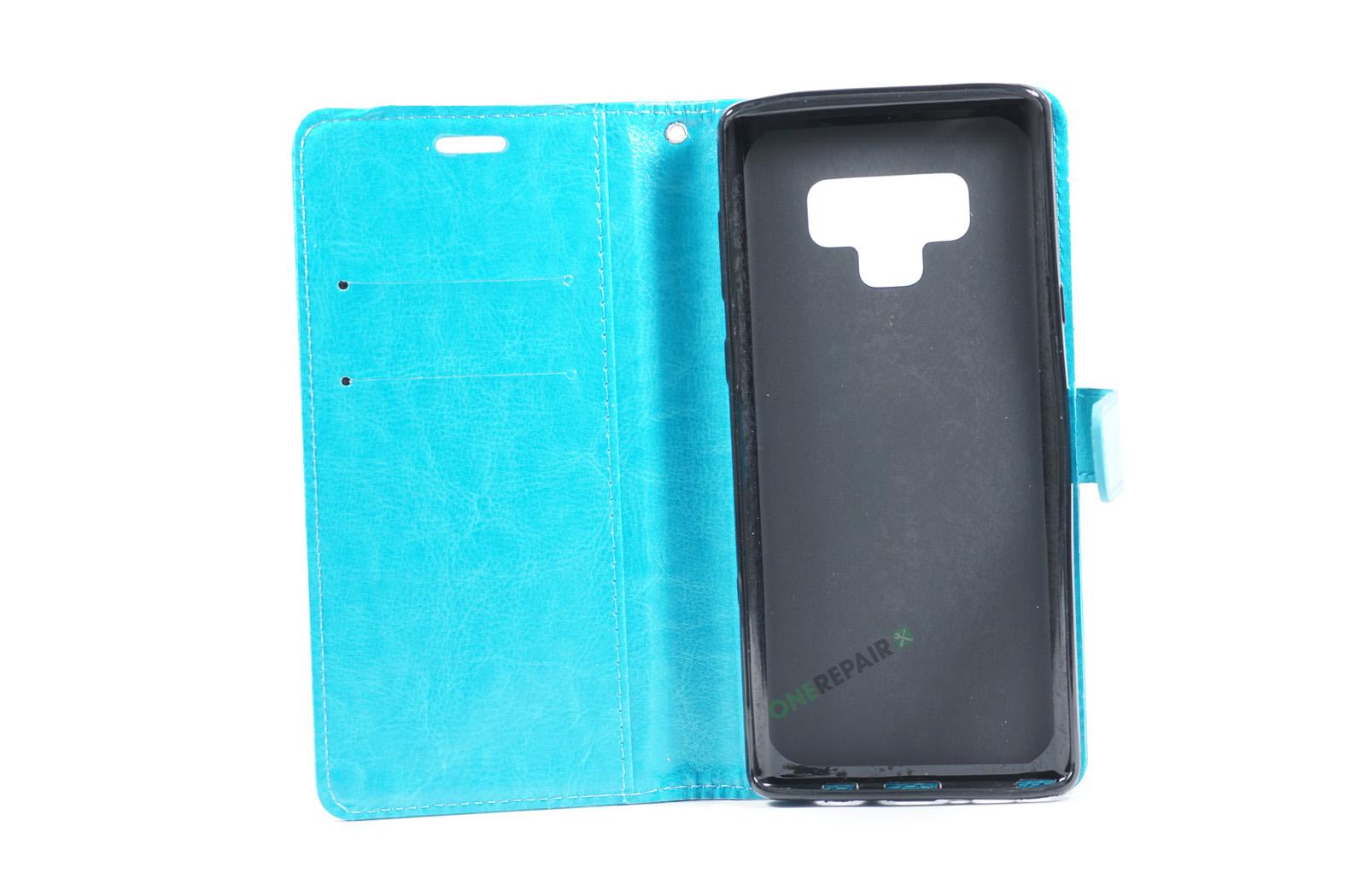 351894_Samsung_Note_9_Flipcover_Classic_Cover_Turkis_Blaa_OneRepair_00002