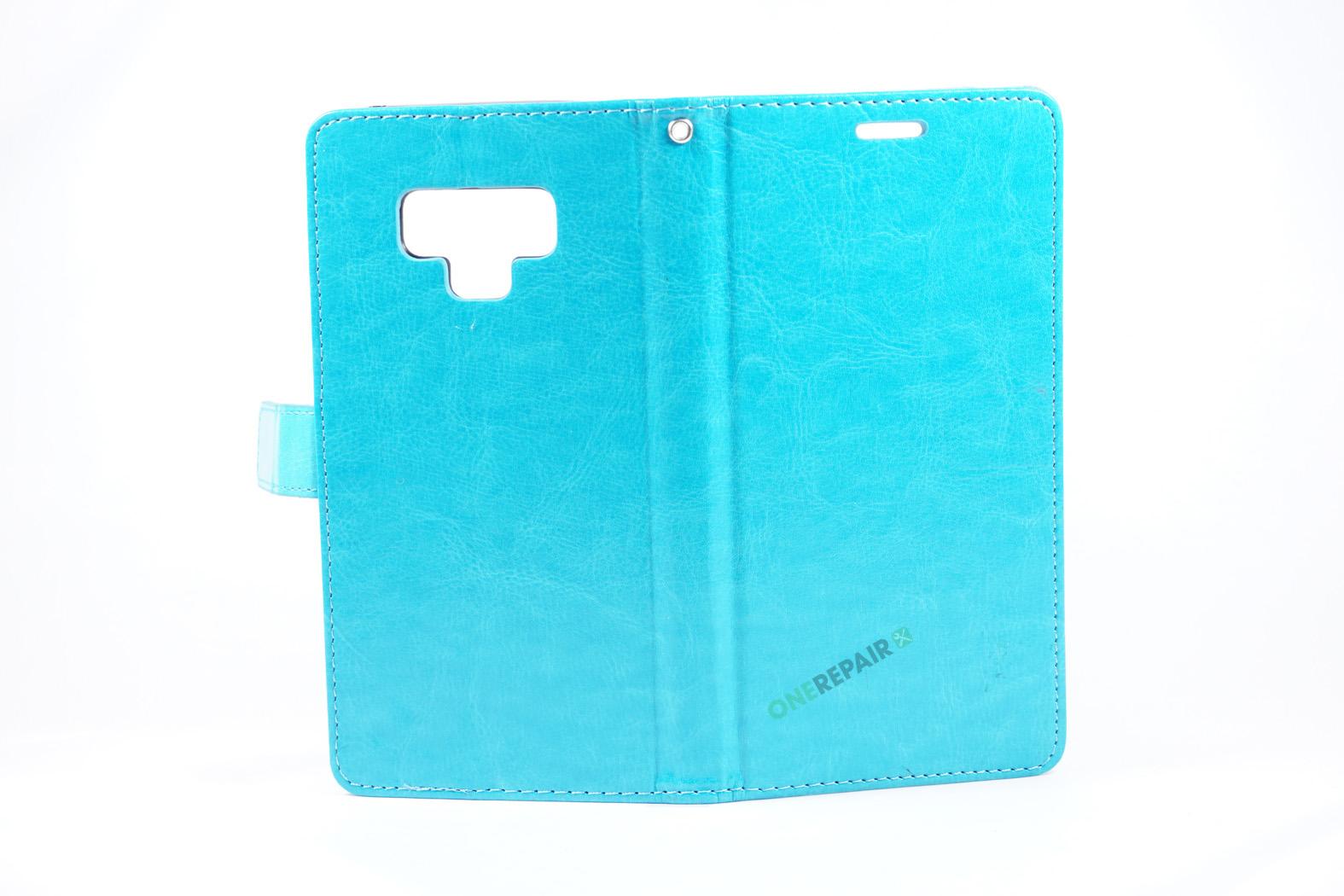 351894_Samsung_Note_9_Flipcover_Classic_Cover_Turkis_Blaa_OneRepair_00003