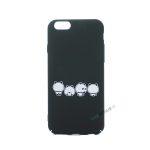 iPhone 6, 6S, A1549, A1586, A1589, A1633, A1688, A1700, A1691, Apple, Bagcover, Cover, Motiv, Sjov, Billig Sort, Panda,