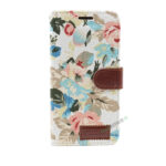 iPhone, X Xs Max, Flipcover, Plads til kort, Mobilcover, Mobil cover, billig, Blomster