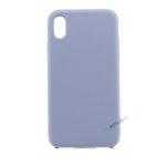 iPhone, X Xs Max, Silikone, Silikonecover, Mobilcover, Mobil cover, billig, Blaa, blå, lyseblaa, lyseblå, patel