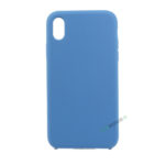 iPhone, X Xs Max, Silikone, Silikonecover, Mobilcover, Mobil cover, billig, Blå, blaa, navy blue,