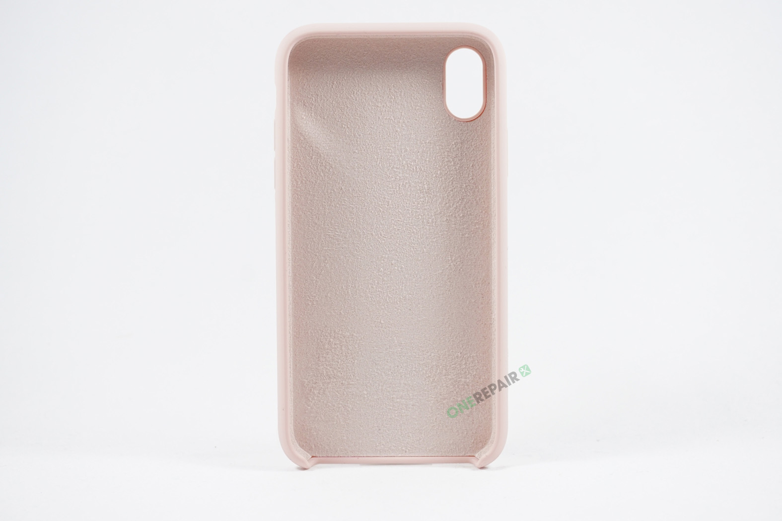 352064_iPhone_Xs_Max_Silikonecover_Cover_Beige_Pastel_Lyseroed_Pink_OneRepair_00003
