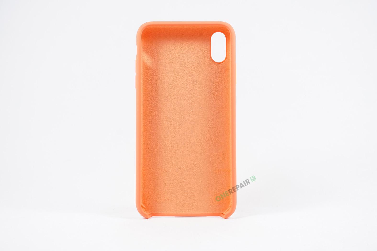 352065_iPhone_Xs_Max_Silikonecover_Cover_Orange_Pastel_OneRepair_00003