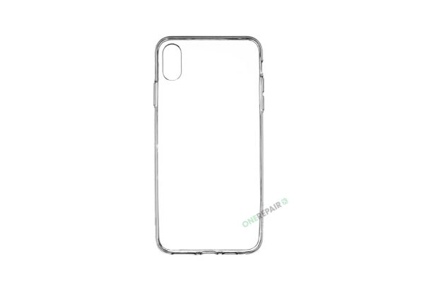 iPhone XS MAX cover, Gennemsigtig, Transparant