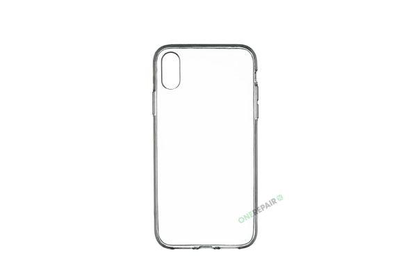 iPhone Xr, A1984, A2105, A2106, A2108, Transparant, Gennemsigtig, Gummicover, Billig, Cover, Bagcover,