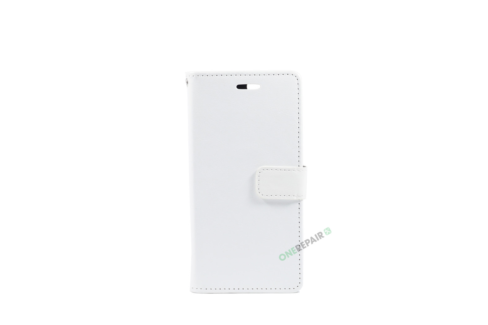 Huawei P Smart, Flipcover, cover, Plads til kort, Hvid