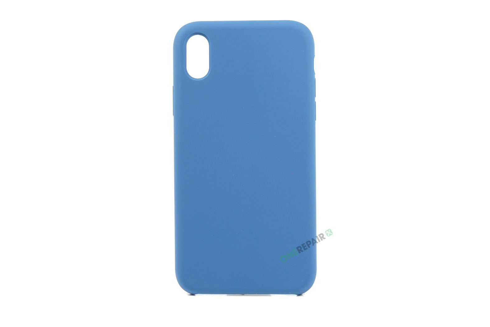 352077_iPhone_XR_Silikonecover_Cover_Blaa_Pastel_Navy_Blue_OneRepair_00001