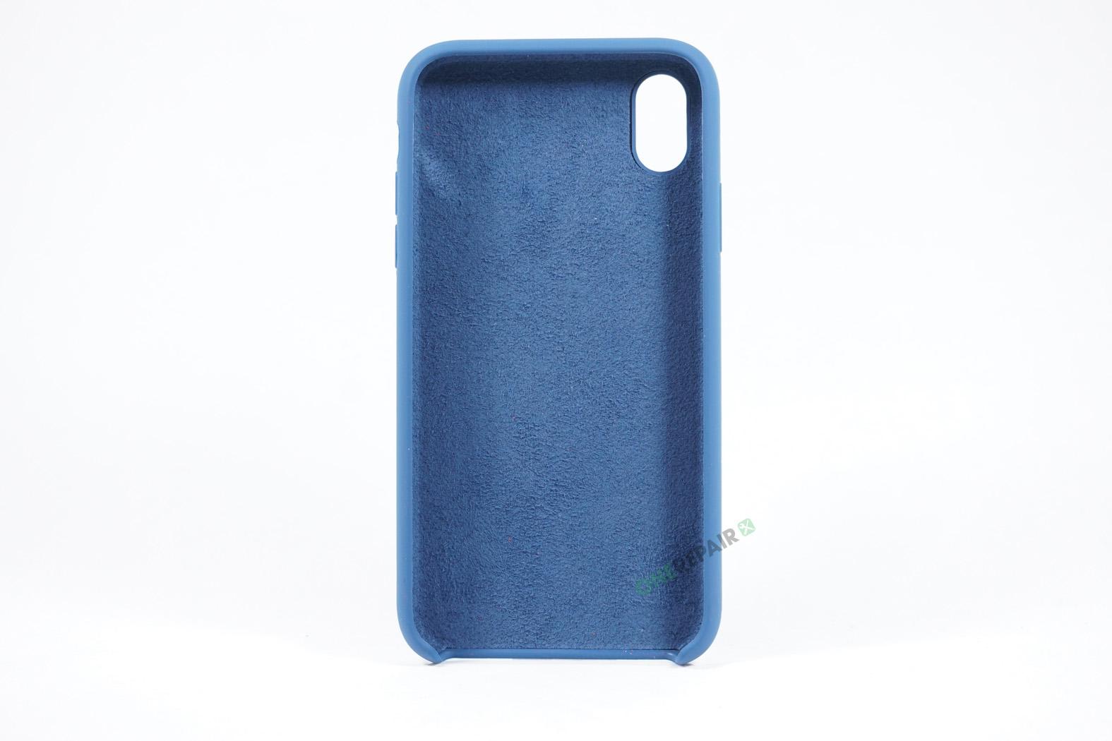 352077_iPhone_XR_Silikonecover_Cover_Blaa_Pastel_Navy_Blue_OneRepair_00003