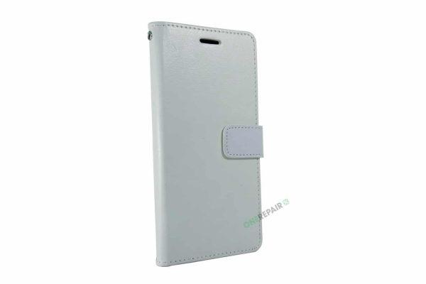 Samsung A20E hvid flipcover