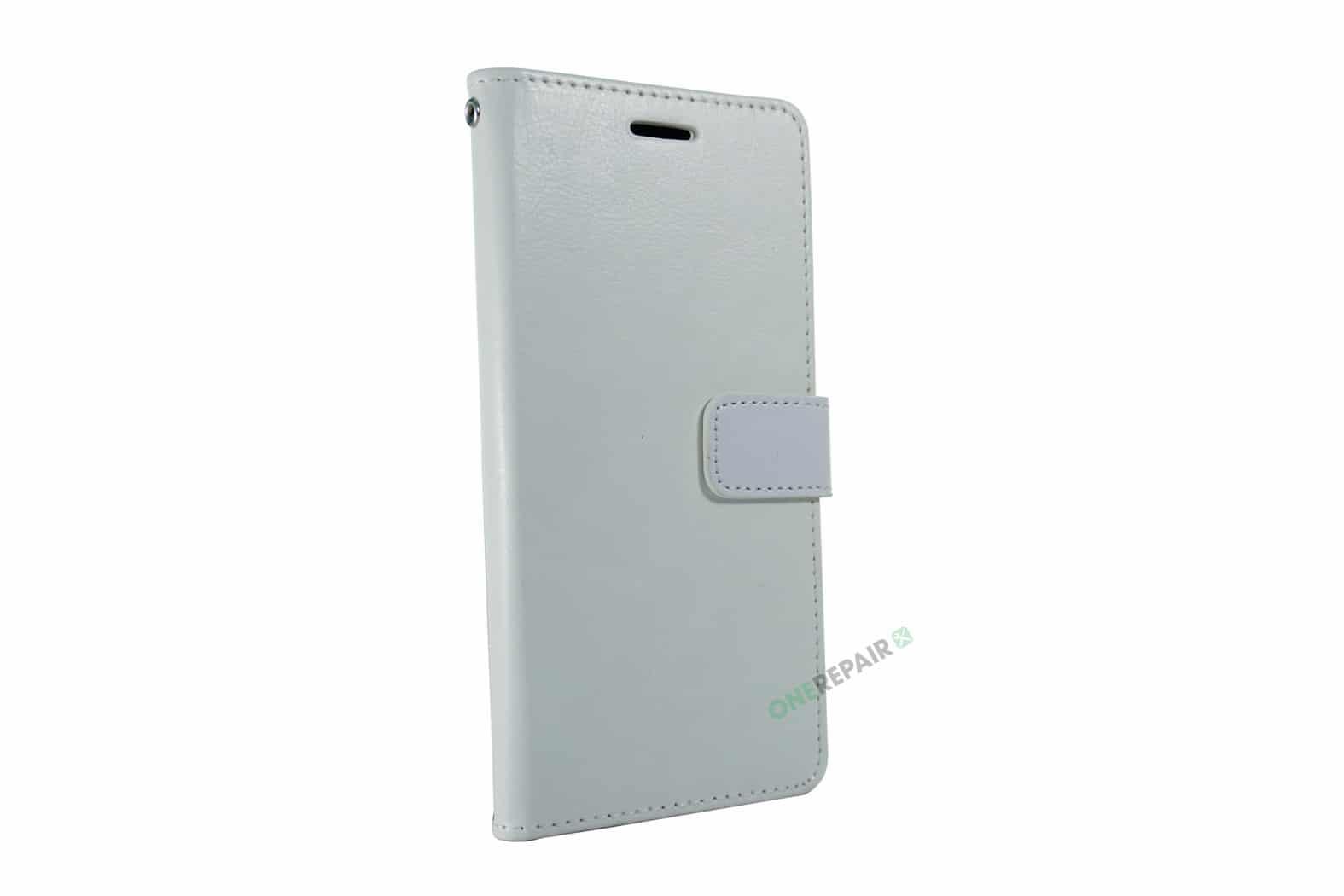 353598-002_Samsung_A20e_Flipcover_Classic_Hvid_Plads_til_kort_OneRepair_00002