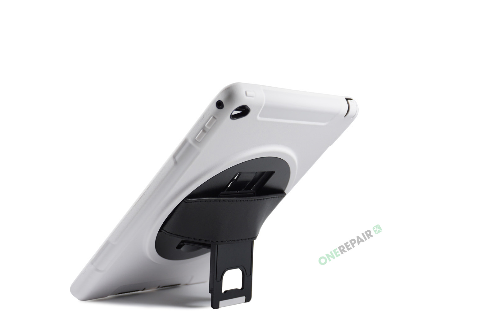 351070_iPad_Air2_2_A1566_A1567_3-in-1_Thin_Boernecover_Børne_Hardcase_Cover_Hvid_Graa_OneRepair_00004