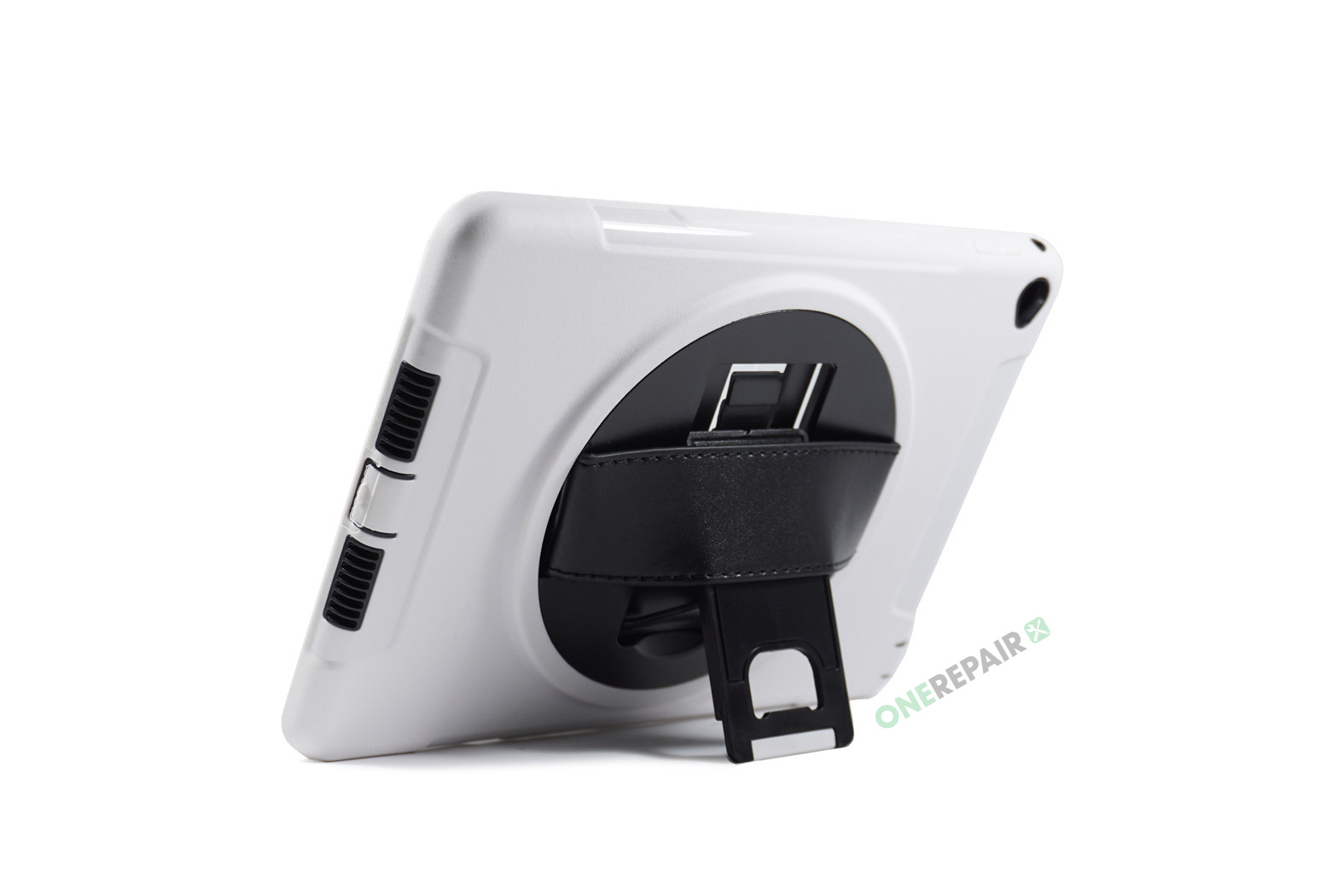 351070_iPad_Air2_2_A1566_A1567_3-in-1_Thin_Boernecover_Børne_Hardcase_Cover_Hvid_Graa_OneRepair_00005