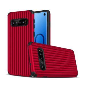 Samsung S10+, S10 Plus, Cover, hardcase, Godt beskyttelse, Rød