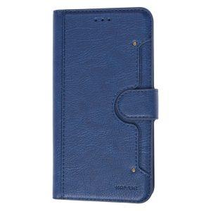 Samsung S10 +, S10 plus, Flipcover, Kortholder, Plads til kort, Blå