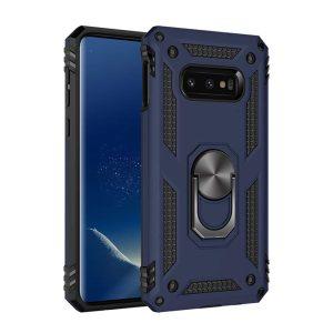 Samsung Galaxy S10e, Finger grib, Cover, Magnet bilholder, Håndværkercover, Børnecover, Billig, Blå, Blåt, Mørkeblå, Beskyttelse