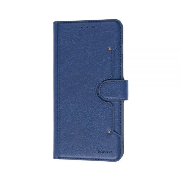 Samsung S10e, Flipcover, Cover, Blå, Plads til kort