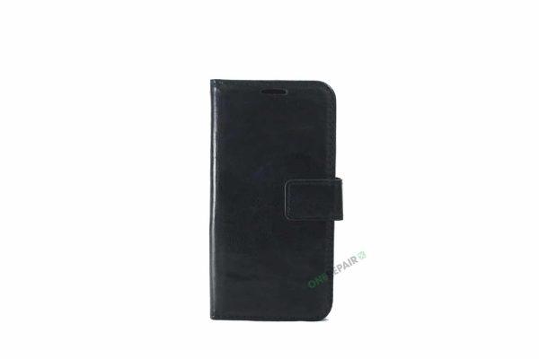 Samsung S10E flipcover, Sort, cover, Plads til kort