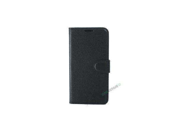 Samsung S10E flipcover, Sort cover, Plads til kort