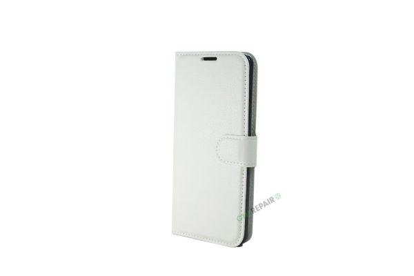 Samsung S10E flipcover, Hvid cover, Plads til kort