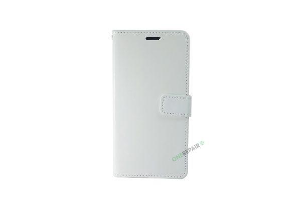 Huawei P30 Pro, flipcover, Hvid, Plads til kort