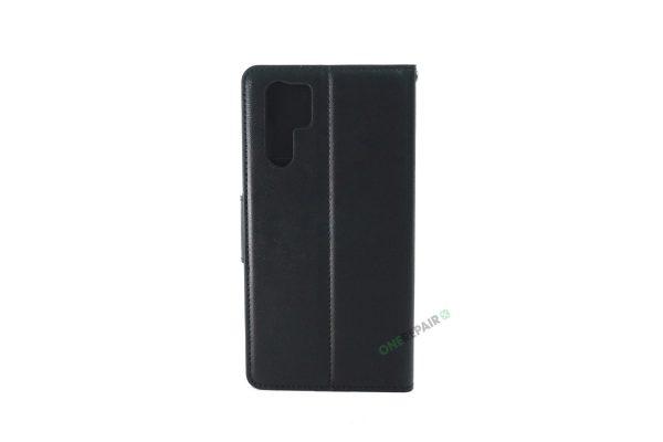 Huawei P30 Pro, flipcover, Sort, Plads til kort