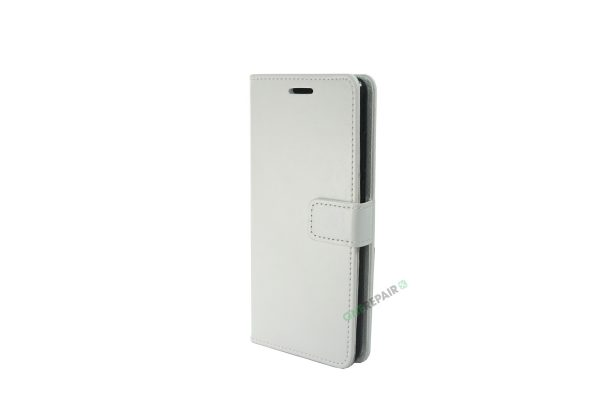 Huawei P30, flipcover, Hvid, Plads til kort