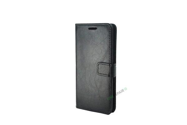 Huawei P30, flipcover, Sort, Plads til kort