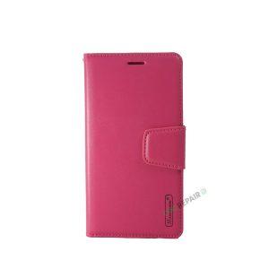 Huawei P20 Lite, flipcover, Pink, Plads til kort