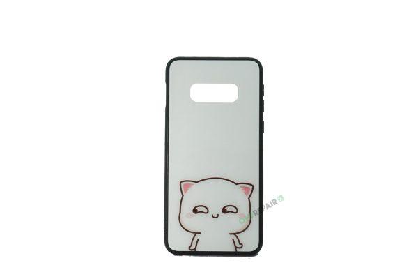 Samsung Galaxy S10e, Kat, Hvid, Lite