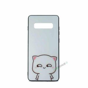 Samsung S10 Plus, S10+, Katte cover, Hvid