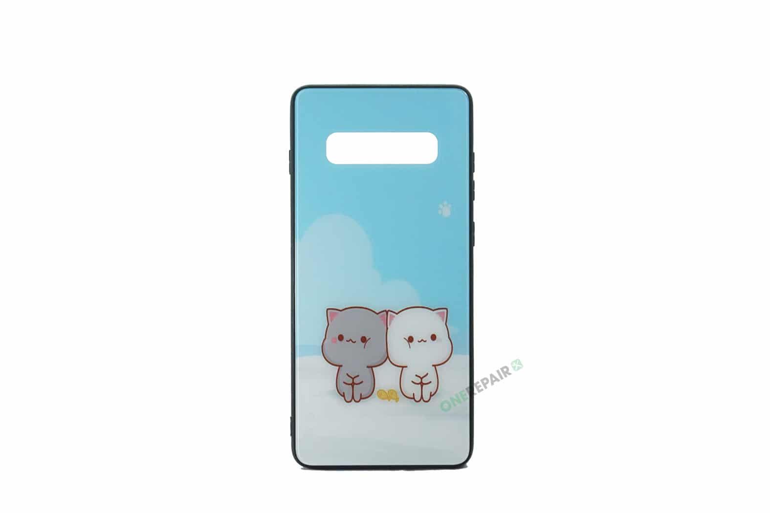Samsung S10 Plus, S10+, Katte cover Blå
