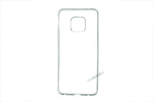 Huawei Mate 20 Pro cover, Gennemsigtig, Transparant, Gummicover