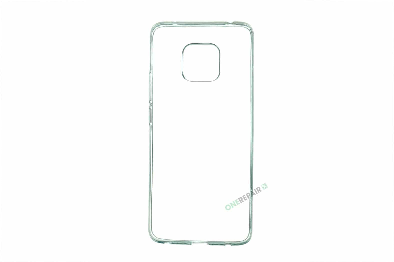 Huawei Mate 20 Pro cover, Gennemsigtig, Transparant, Gummicover