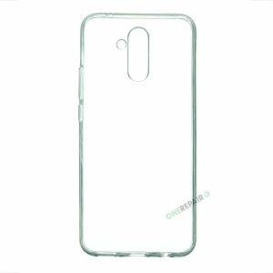 Huawei Mate 20 lite cover, Gennemsigtig, Transparant, Gummicover