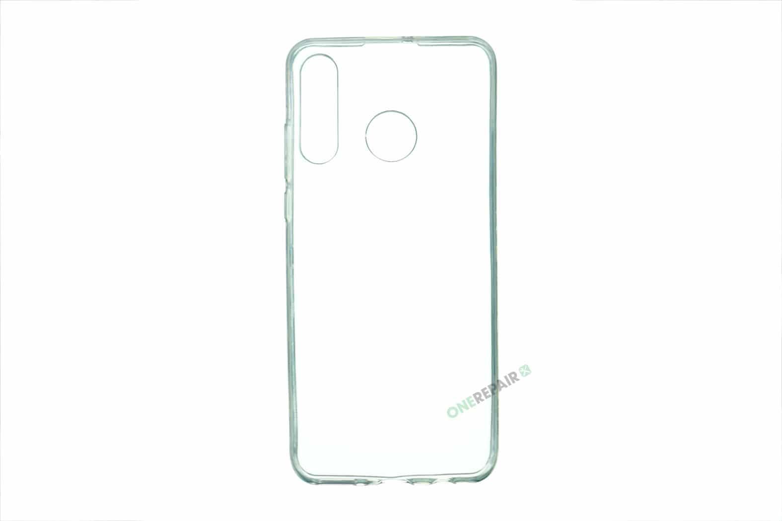 Huawei P30 Lite cover, Gennemsigtig, Transparant, Gummicover