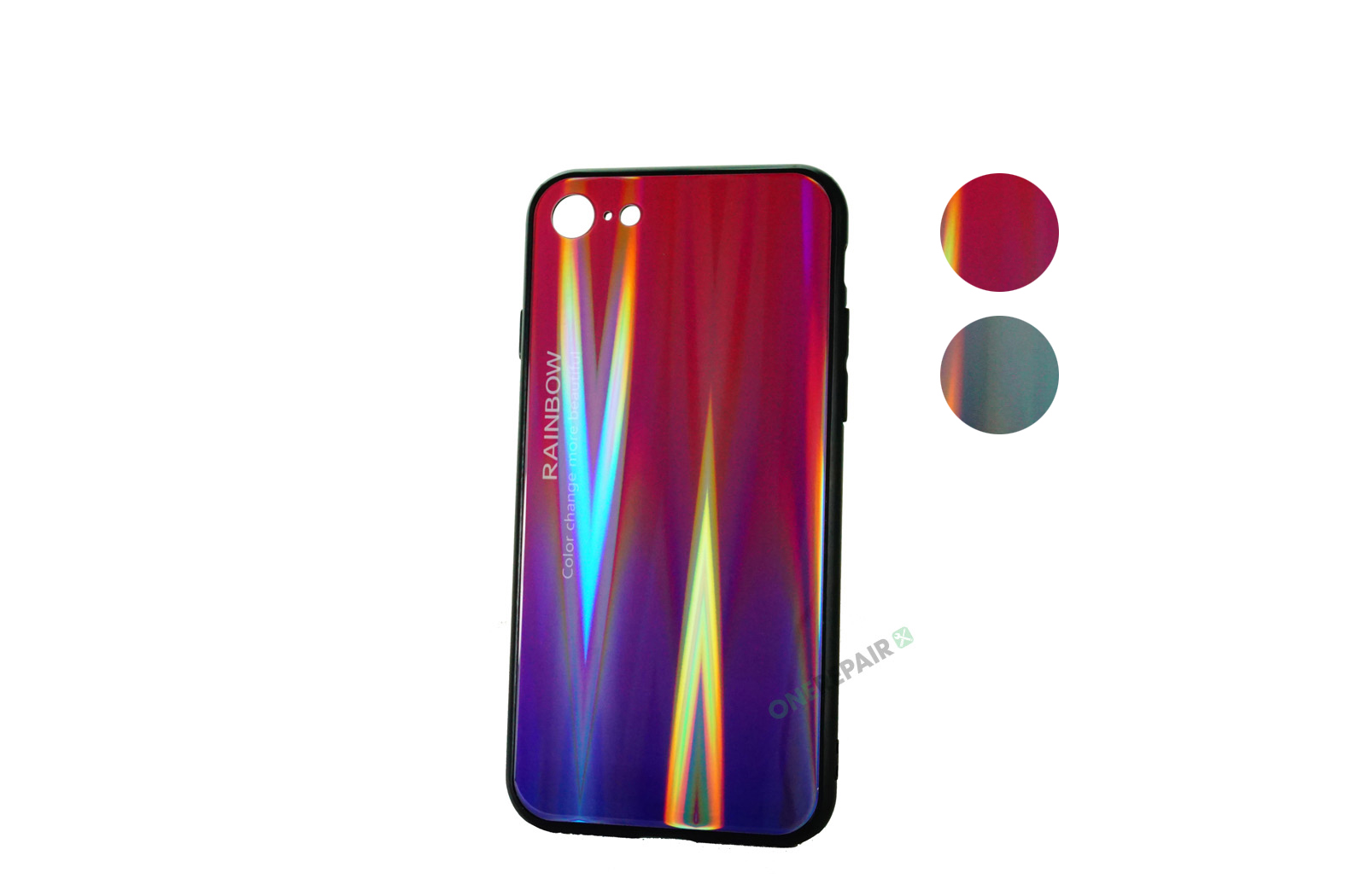 353615-001-002_iPhone_7_8_cover_rainbow_Lilla_Graa_OneRepair_Varianter