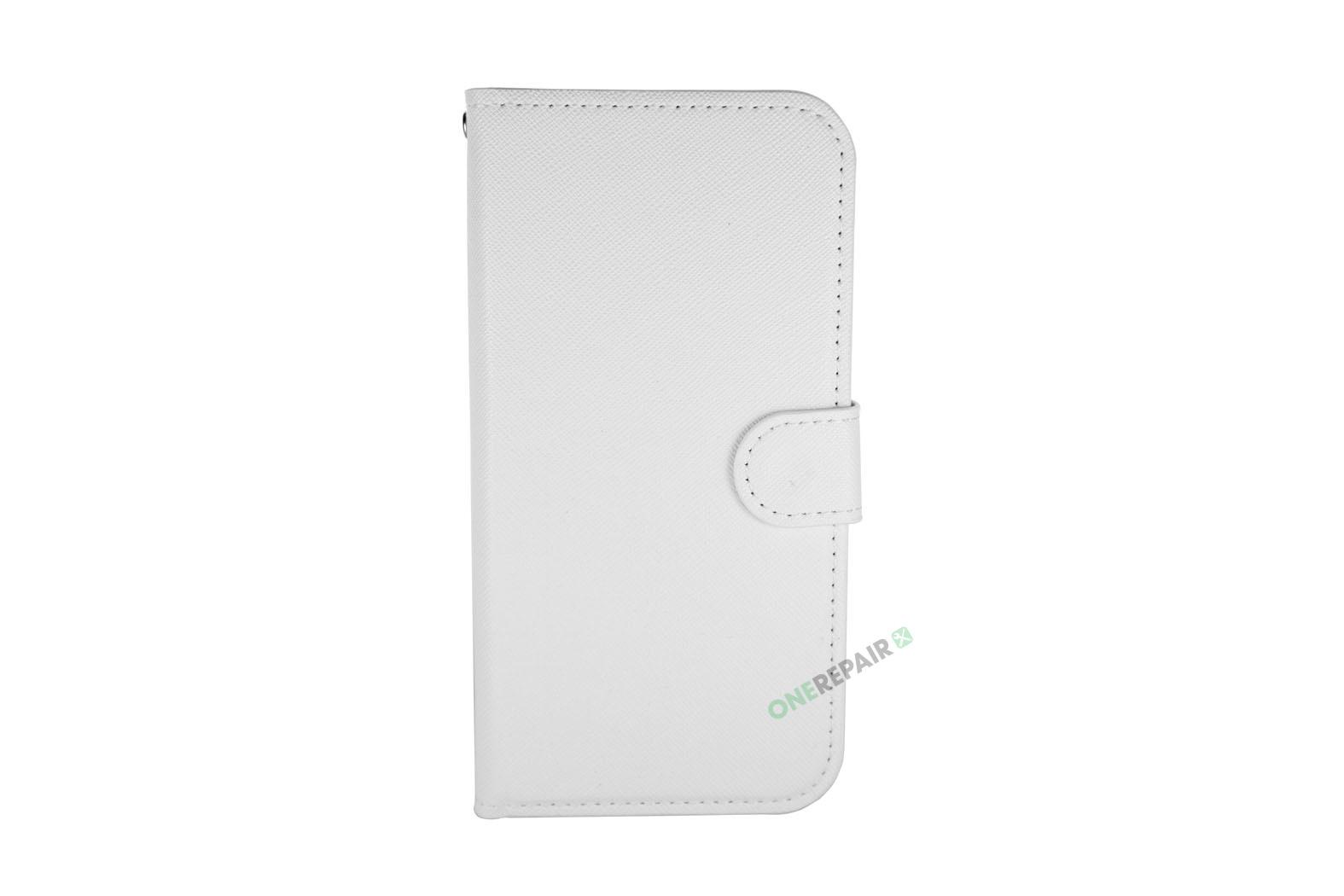 353703-002_iPhone_11_Flipcover_med_magnet_Plads_til_kort_Hvid_Cover_OneRepair_00001