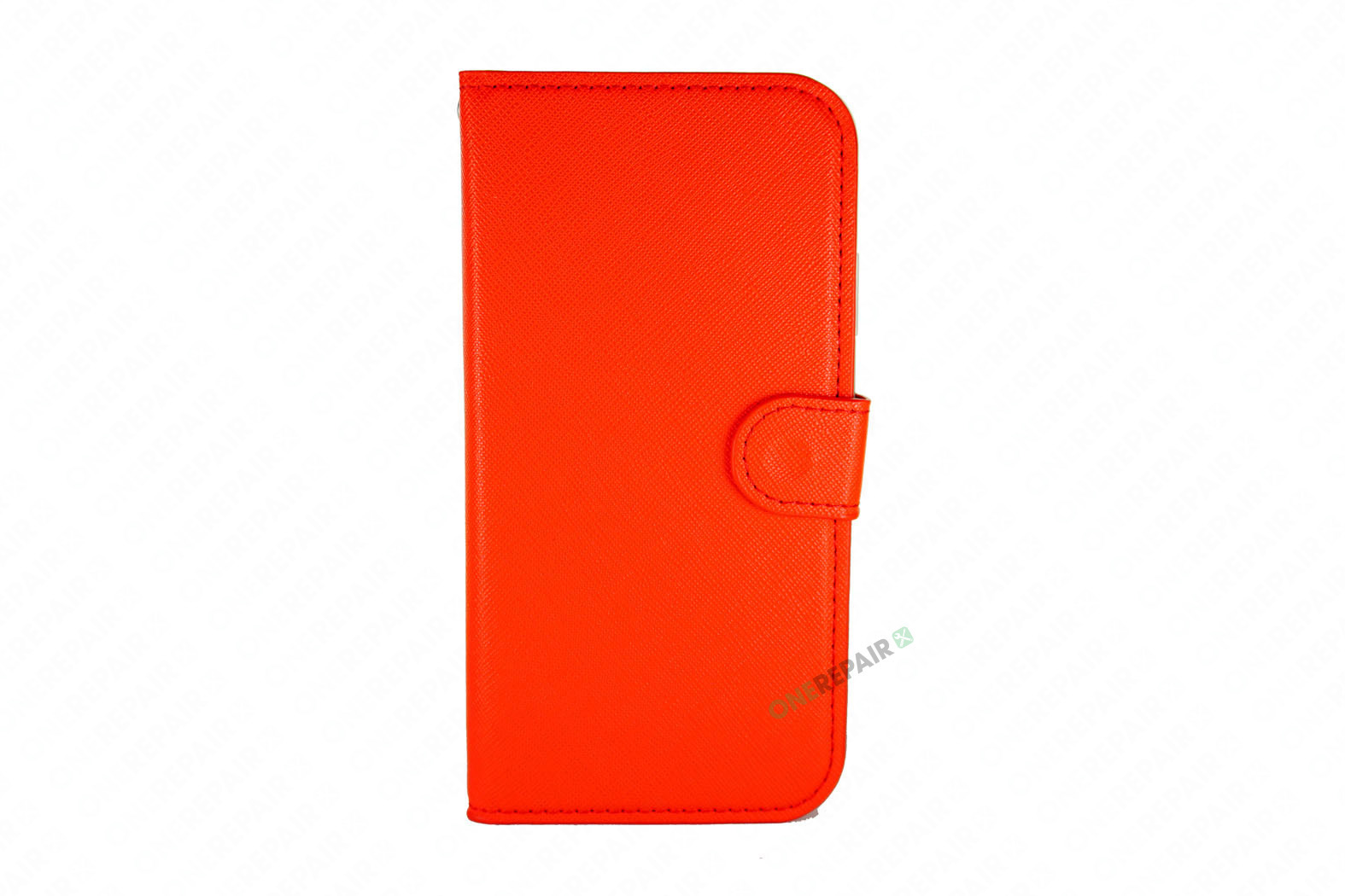 353703-003_iPhone_11_Flipcover_med_magnet_Plads_til_kort_Roed_Cover_OneRepair_00001