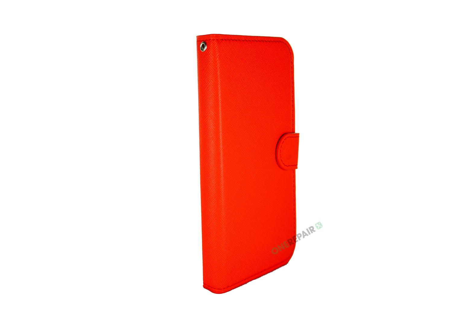 353703-003_iPhone_11_Flipcover_med_magnet_Plads_til_kort_Roed_Cover_OneRepair_00002