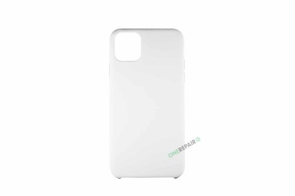 iPhone 11 Pro Max Hvid Silikone cover