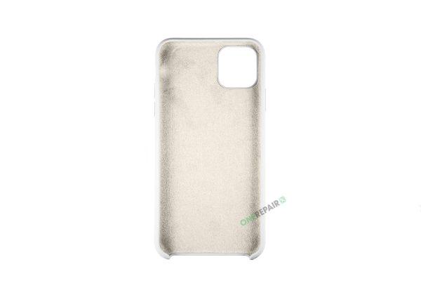 iPhone 11 Pro Max Hvid Silikone cover
