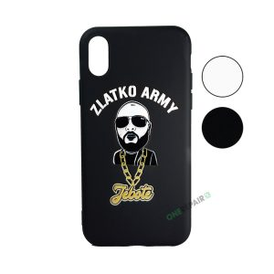 Zlatko Army cover til iPhone X og XS