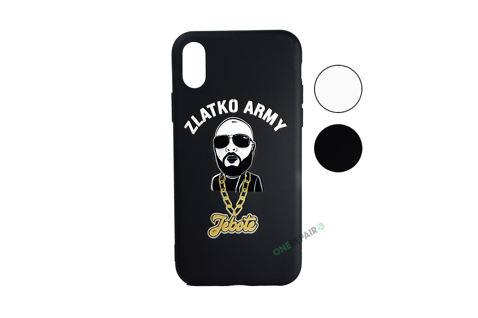 Zlatko Army cover til iPhone X og XS