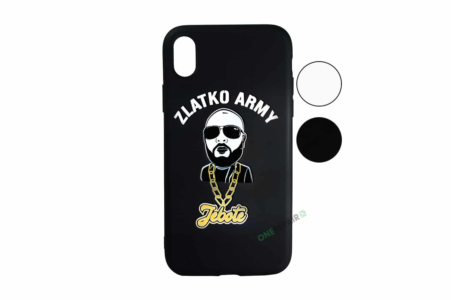 Zlatko Army cover til iPhone XR