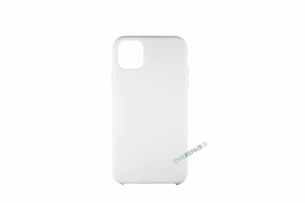 iPhone 11 Hvid Silikone Cover